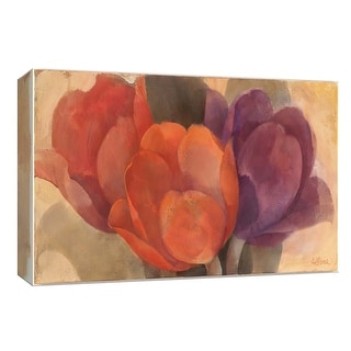 "PTM Images 9-153945  PTM Canvas Collection 8"" x 10"" - ""Bouquet of Tulips"" Giclee Flowers Art Print on Canvas"