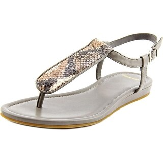 Cole Haan Molly Flat.Thong Women Open Toe Leather Thong Sandal