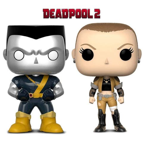 Funko POP Marvel Comic X-Men Negasonic Teenage Warhead and Colossus Toy Action Figure 2 POP BUNDLE