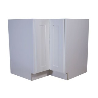 "Design House 613232 Brookings 34.5"" x 36"" Double Door Base Cabinet - White - N/A"