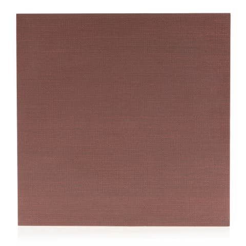 8x8 Level Red fabric look porc. tile (6.9 Sq. Ft./ 16 pc box)
