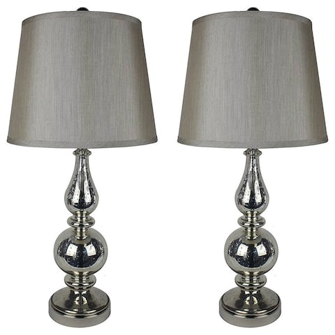 "Set of 2 Andelain Table Lamps, 27"" Tall"