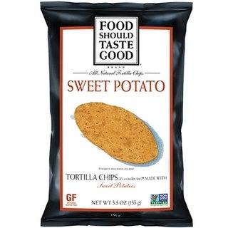 Food Should Taste Good - Sweet Potato Tortilla Chips ( 24 - 1.5 oz boxes)