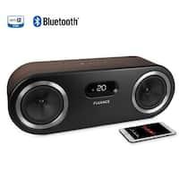 Fluance Fi50B Two-Way High Performance Wireless Bluetooth Premium Wood Speaker System with aptX Enhanced Audio