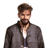 Adult Jack Sparrow Goatee & Mustache Accessory