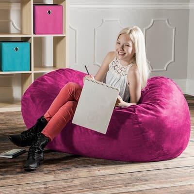 Jaxx 4' Lounger Bean Bag Chair