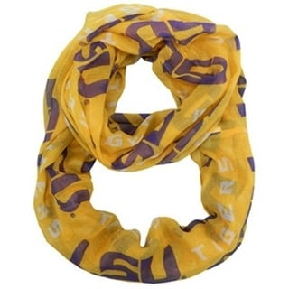 LSU Tigers Infinity Scarf Alternate