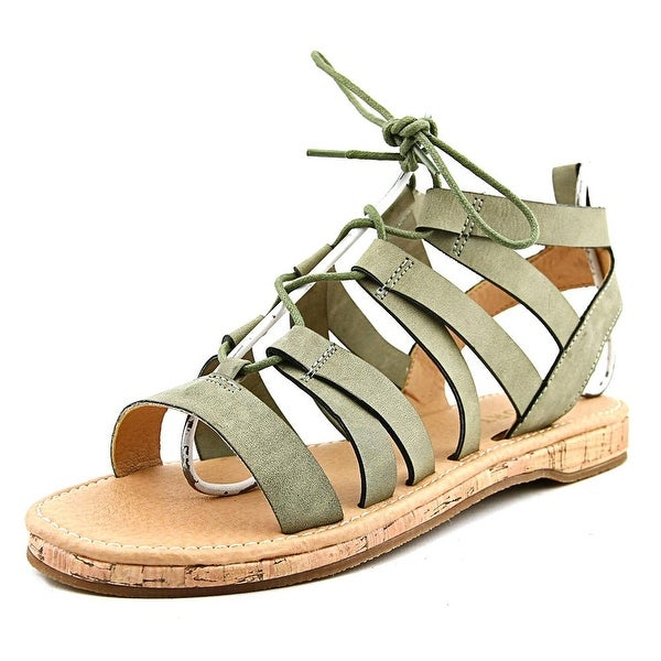 Report Freedom Open Toe Synthetic Gladiator Sandal