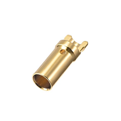 2 Pairs 3.5 mm Gold Plated Male & Female Bullets Connectors Plugs (2 Male + 2 Female) #0228 - 150