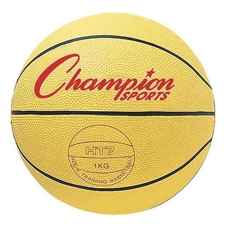 29.5 in. Weighted Basketball Trainer, Yellow - 3.17 lbs