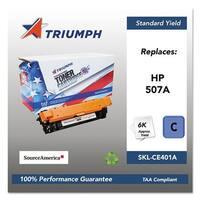 Triumph Remanufactured 507A Toner Cartridge - Cyan Toner Cartridge