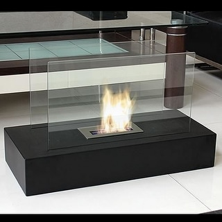 Nu-Flame NF-F3FIE Flamme Freestanding Floor Fireplace - Black