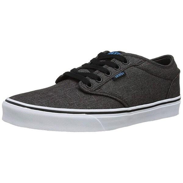 72bee0613daef Shop Vans Mens Atwood (Textile) Black/Hawaiin Ocean Skate Shoe 9 Men ...