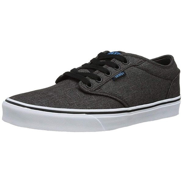268496ccf761e5 Shop Vans Mens Atwood Textile Shoes Black Hawaiian Ocean Size 8 ...