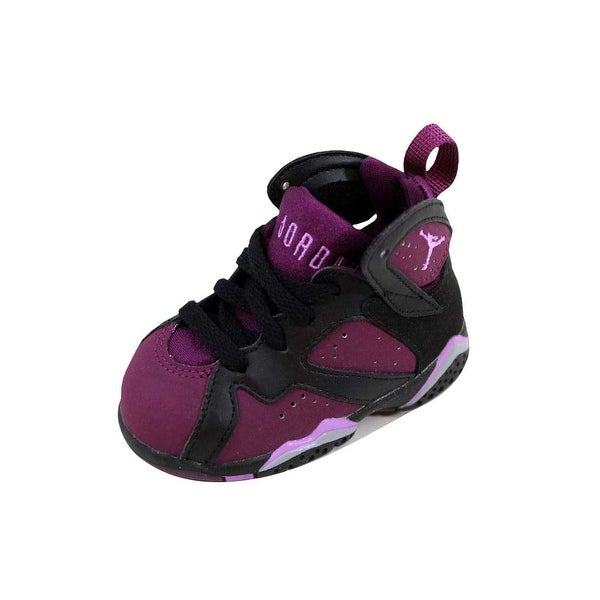 detailed look 885b7 8f818 Shop Nike Toddler Air Jordan VII 7 Retro GT Black/Fuchsia ...