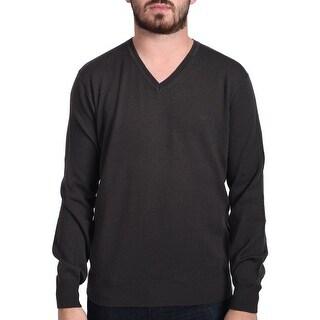Valentino Men's V-Neck Sweater Brown