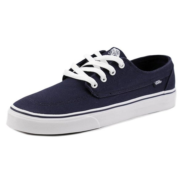 Vans Brigata Men Round Toe Canvas Blue Sneakers