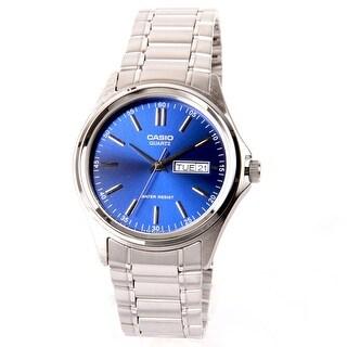 Casio Men's Quartz Silver Bracelet Watch