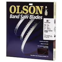 """Olson Saw FB10080 Hard Edge Flex Back Band Saw Blade, 80"""" x 3/16"""""""