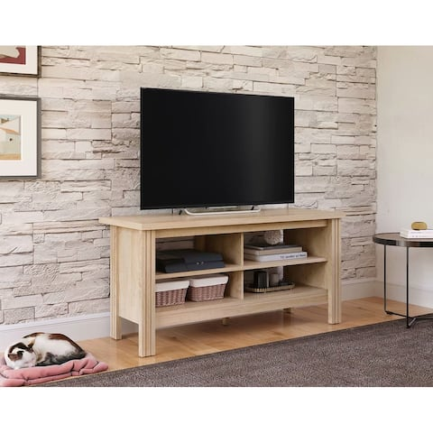 TV Stand for 55 inch TV Entertainment Center,Rustic Oak-43 inch - 55 inches