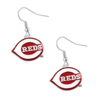 Cincinnati Reds MLB Dangle Logo Charm Earring Set