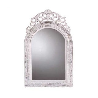 Arched-top Wall French Country Mirror