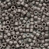 Miyuki Delica Seed Beads 11/0 Matte Silver Metallic DB321 7.2 Grams