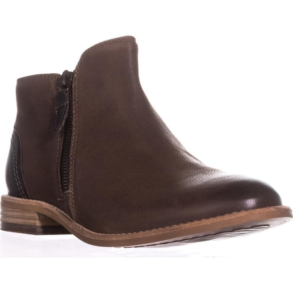 Clarks Maypearl Juno Flat Ankle Boots, Brown - 8 us / 39 eu