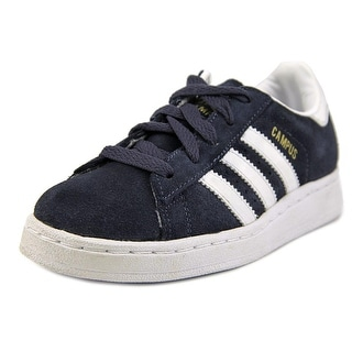 Adidas Campus II Youth Round Toe Suede Blue Fashion Sneakers