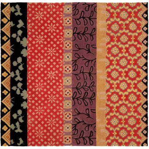 Safavieh Handmade Rodeo Drive Gunjan Mid-Century Modern Abstract Wool Rug