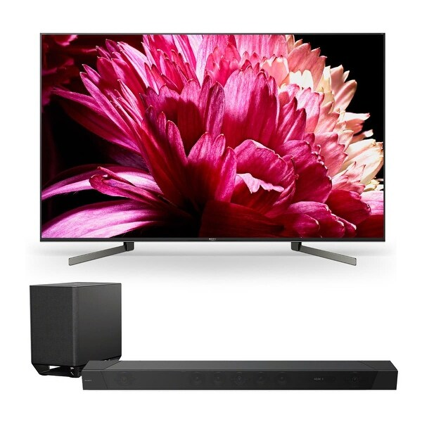"Sony XBR75X950G 75"" BRAVIA 4K Ultra HD HDR Smart TV with HT-ST5000 7.1.2ch 800W Dolby Atmos Sound Bar - Black"