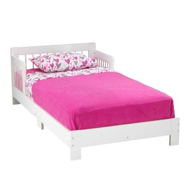 Shop KidKraft: Houston Toddler Bed - White - Free Shipping ...