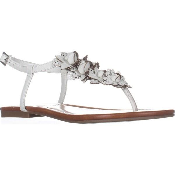 Jessica Simpson Kiandra Flat Thong Sandals, Powder