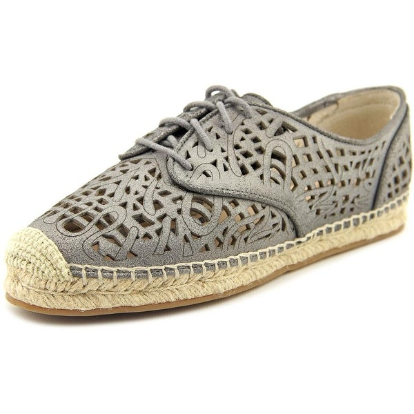 7d9e6582a2 Vince Camuto Dinah Women Round Toe Leather Gray Espadrille - Free Shipping  On Orders Over  45 - Overstock.com - 20372508
