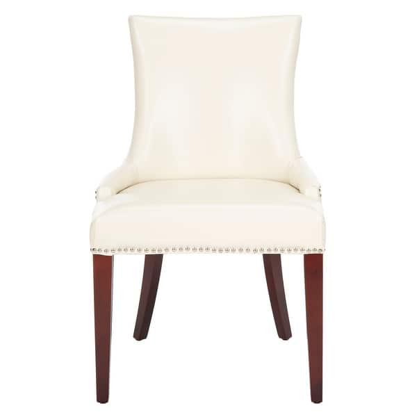 Dining Becca Cream Leather Chair