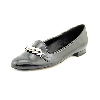 Vaneli Cesya Women Round Toe Patent Leather Loafer