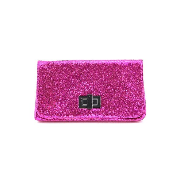 Shiraleah 01-27-238 Women Synthetic Pink Clutch