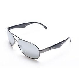 John Galliano Women's Aviator Style Sunglasses Black - Small