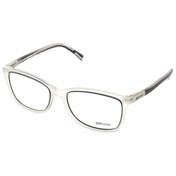 Just Cavalli JC0530/V 027 Clear/Grey Wayfarer Optical Frames