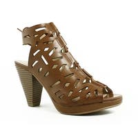 Dirty Laundry Womens Wandering Brown Sandals Size 6