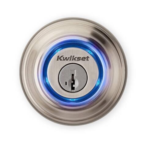 Kwikset 925-KEVO2-DB-15 Kevo 2-Gen Bluetooth Electronic Deadbolt, Satin Nickel