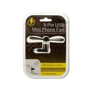 Kole Imports OS977-12 iPhone Mini USB Fan - Pack of 12