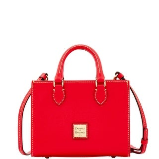 Dooney & Bourke Saffiano Mini Janine Satchel (Introduced by Dooney & Bourke at $198 in Sep 2016) - Red