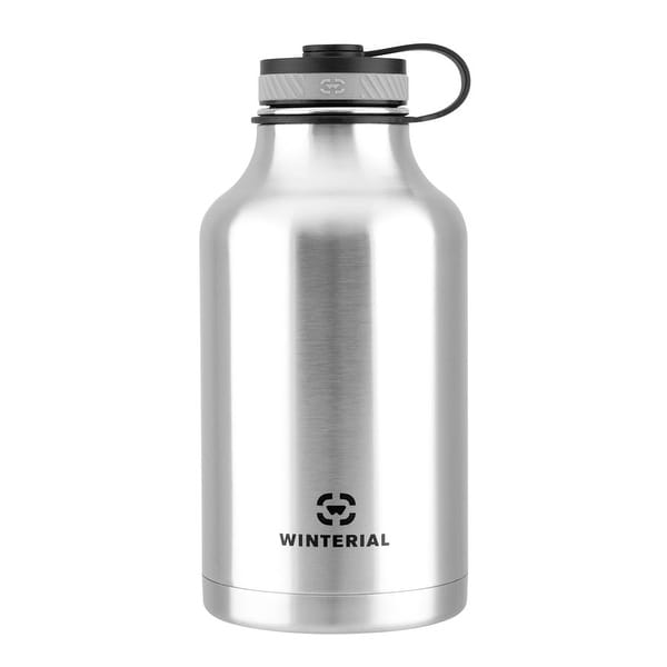 Winterial 64 Oz Insulated Steel Water Bottle And Beer