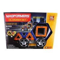 Magformers 32-Piece Magnetic Construction Set: XL Cruisers - Multi