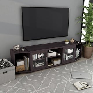 Link to Furniture of America Rasa Contemporary 72-inch Storage TV Stand Similar Items in TV Stands & Entertainment Centers