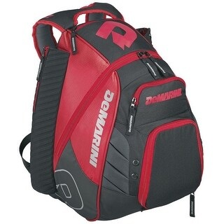 DeMarini Voodoo Rebirth Baseball Backpack (Scarlet Red)