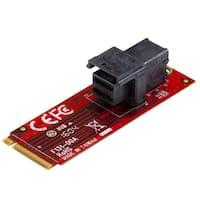 Startech M2e4sff8643 U.2 (Sff-8643) To M.2 Pci Express 3.0 X4 Host Adapter Card