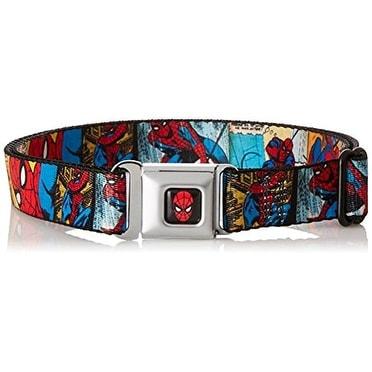 Buckle Down Marvel Comics Adult Seatbelt Buckle Belt