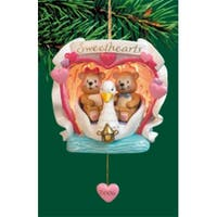 "Carlton Heirloom Collection ""Sweethearts"" Christmas Ornament #3740304"